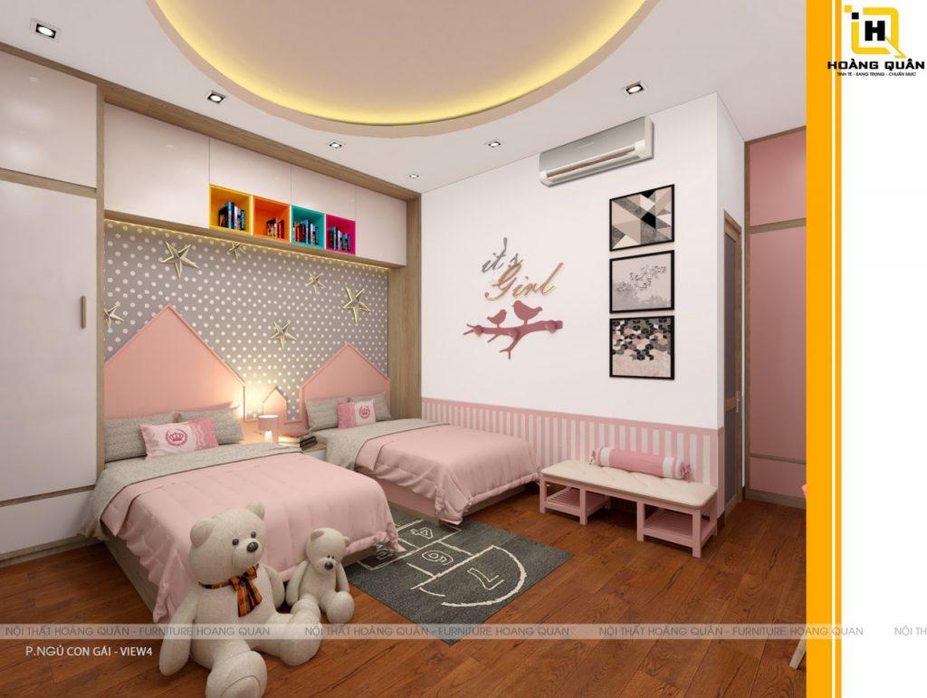 Thiet Ke Phong Ngu Cho Tre Em (8)
